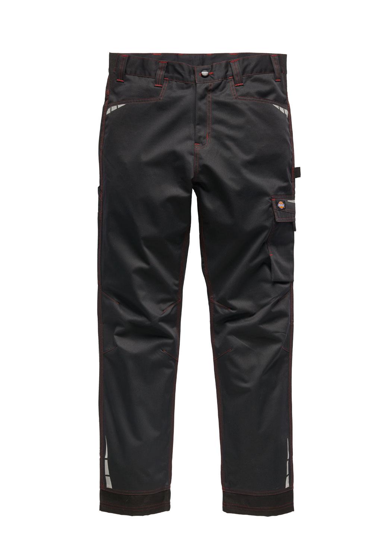 Dickies Lakemont munkanadrág CV1000 feketepiros Cordura®