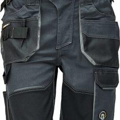 BOMBER Dzseki Pilóta kabát fekete S535 EHS Workwear